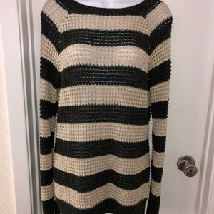 Natural Reflections open knit cotton sweater